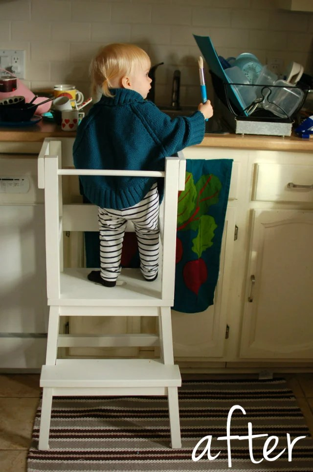 ikea kitchen step stool commercial cleaning services lucy s learning tower hack hackers diy