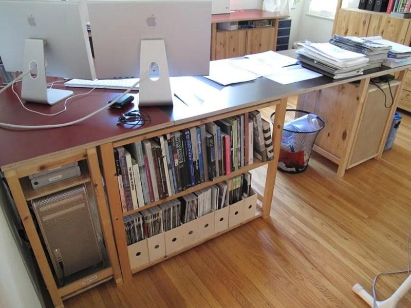 ivar studio desk ikea hackers. Black Bedroom Furniture Sets. Home Design Ideas