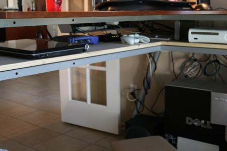 Galant Stand Up Desk And Rationell Variera Monitor Stands