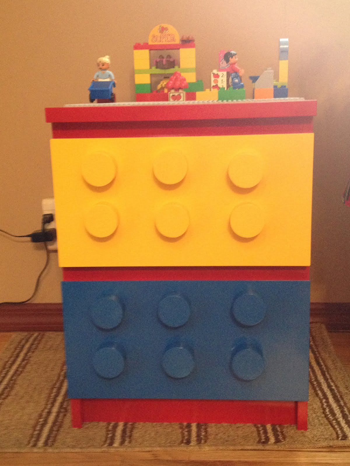 Malm Lego Table Ikea Hackers