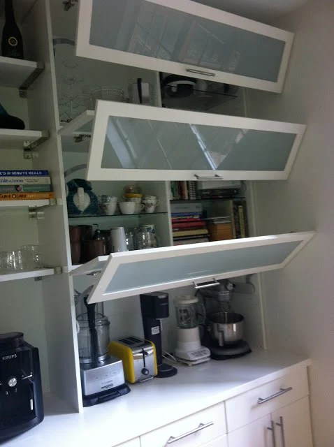 Small Kitchen Appliance Storage Counter Space