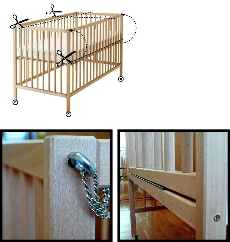 sniglar crib co sleeper