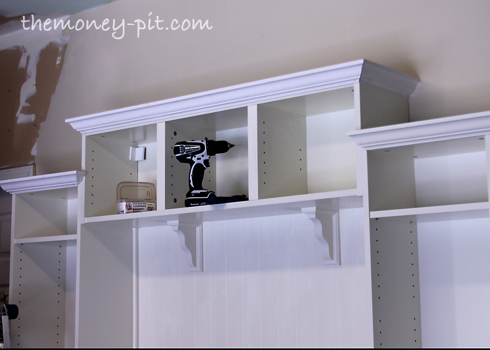billys and smadal to mudroom built ins ikea hackers