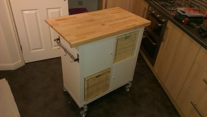 Easy Expedit Kitchen Island Hackers