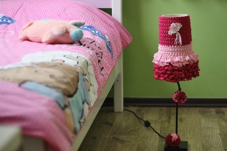 Dolly Lampshade Cover