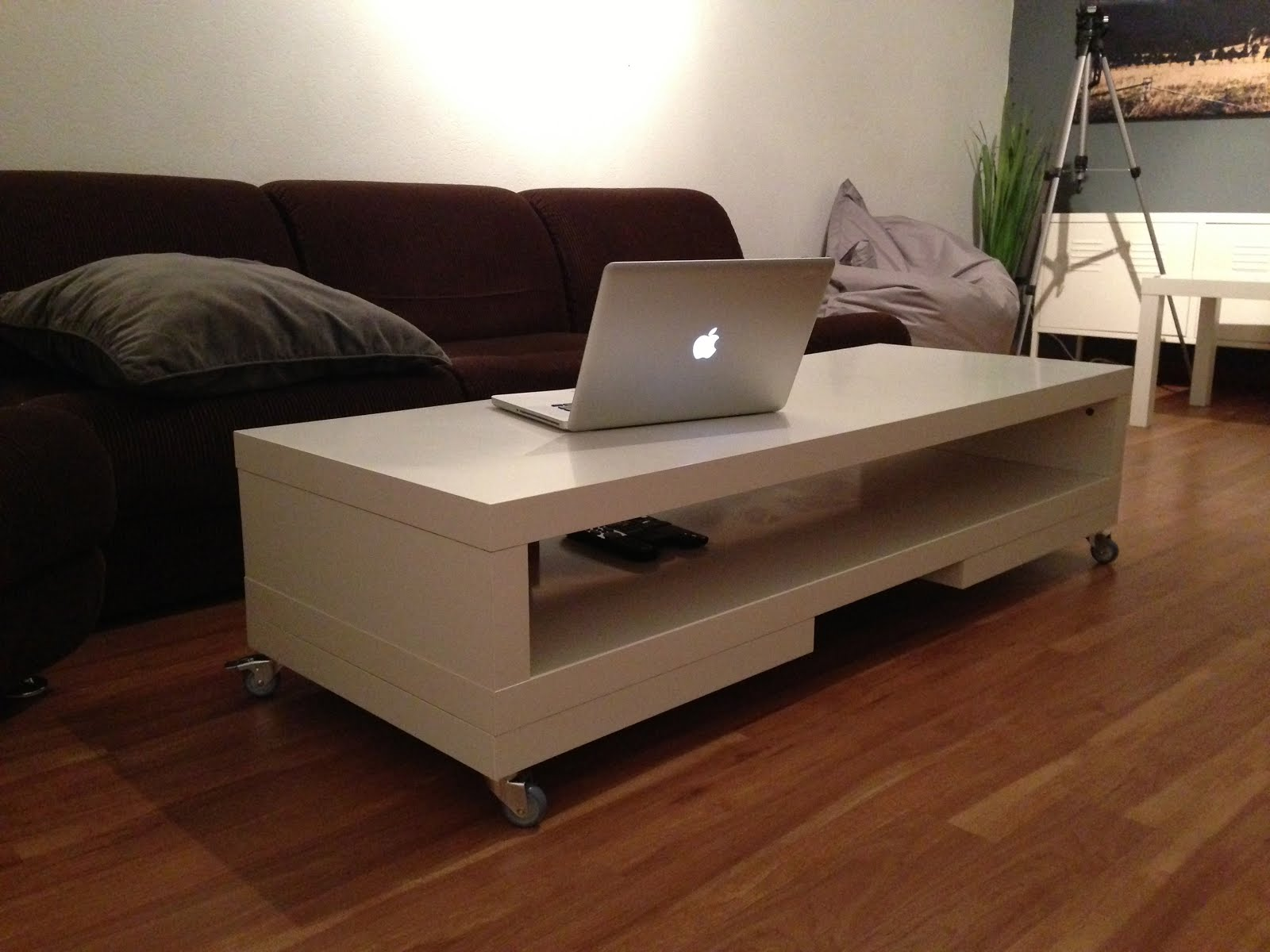 Lack tv unit again coffee table ikea hackers materials lack tv unit 2x lack side tables rill caster geotapseo Images