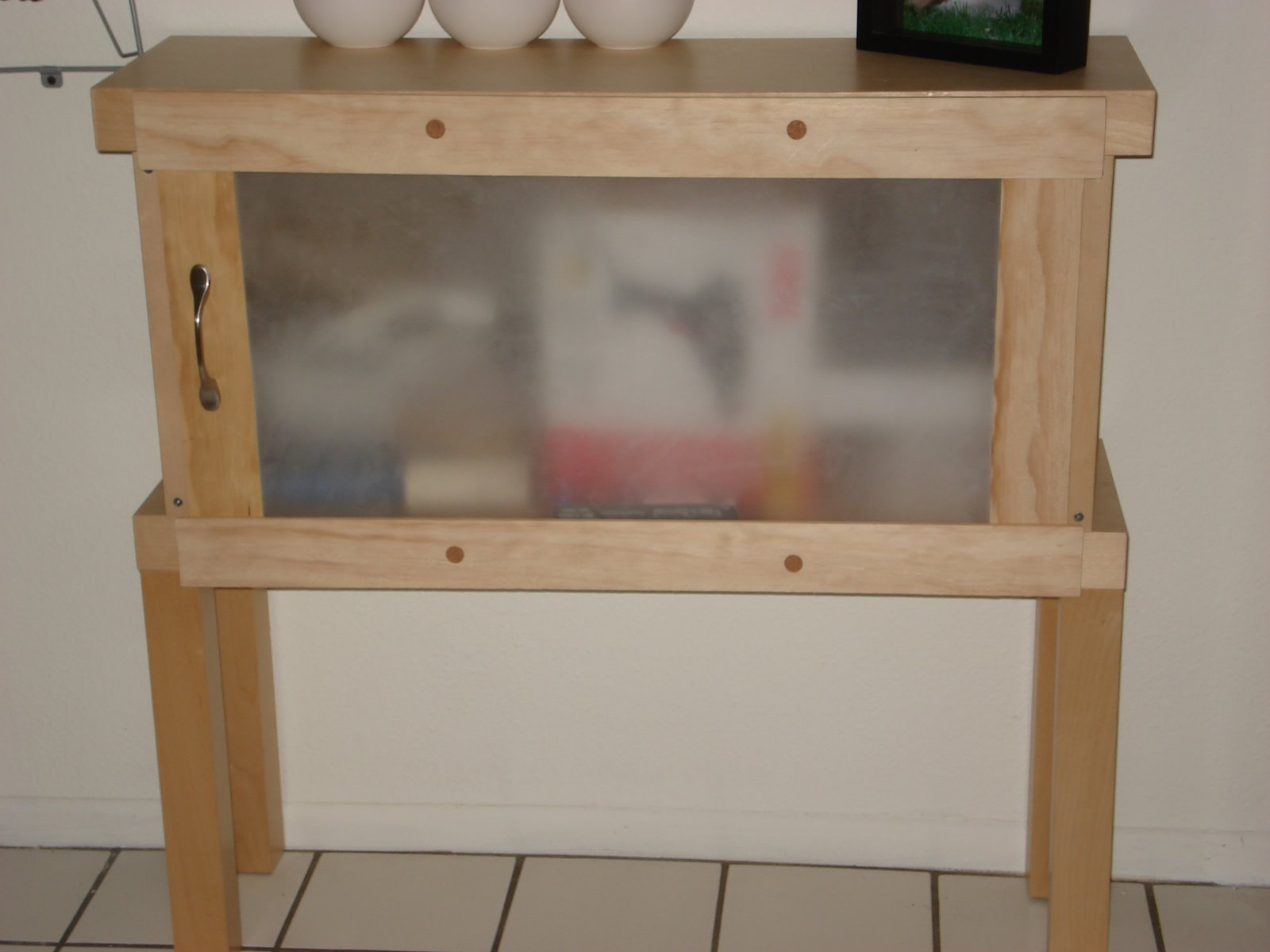 Malm chest turned entry way storage IKEA Hackers