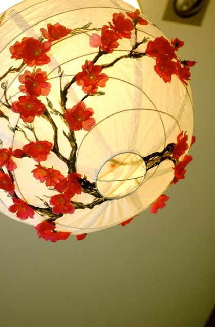 The Cherry Blossom Lantern Ikea Hackers