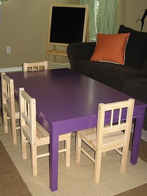 Super Easy Kid S Table Hack Ikea Hackers