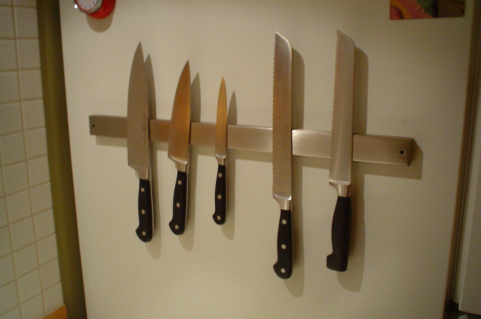 magnetic kitchen knife holder design bangalore hacks ikea hackers