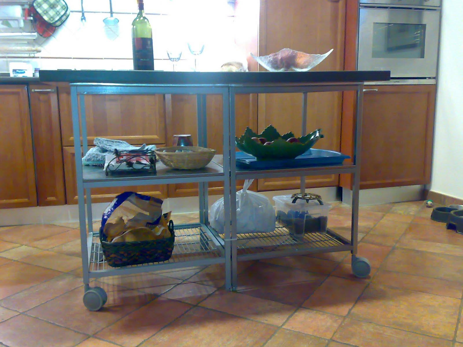 simple kitchen island ikea hackers. Black Bedroom Furniture Sets. Home Design Ideas