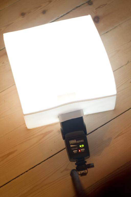 Camera Flash Soft Box Ikea Hackers
