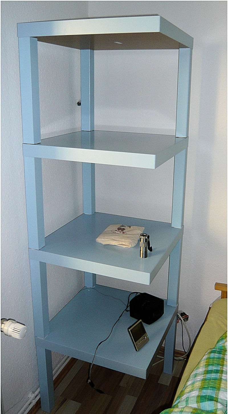 Lack Side Table To Shelf Hack Ikea Hackers