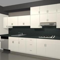 Kitchen Cabinet Doors Only Prefab Outdoor Grill Islands Maximize Storage Space With Stacked Cabinets
