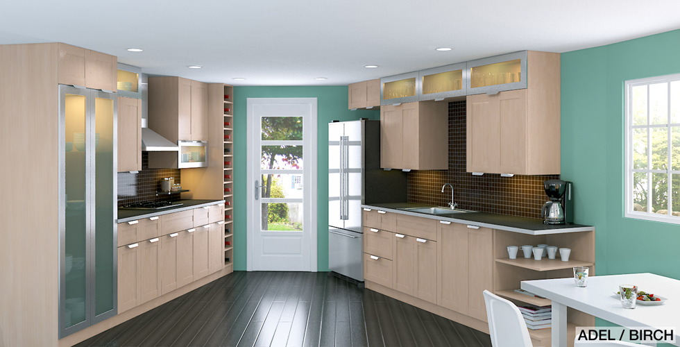 Maximize Kitchen Storage Space With Stacked Cabinets