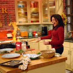 Rachael Ray Kitchen Countertops Cheap Famous Kitchens Get The Look Rachel Tv Chef S Edition
