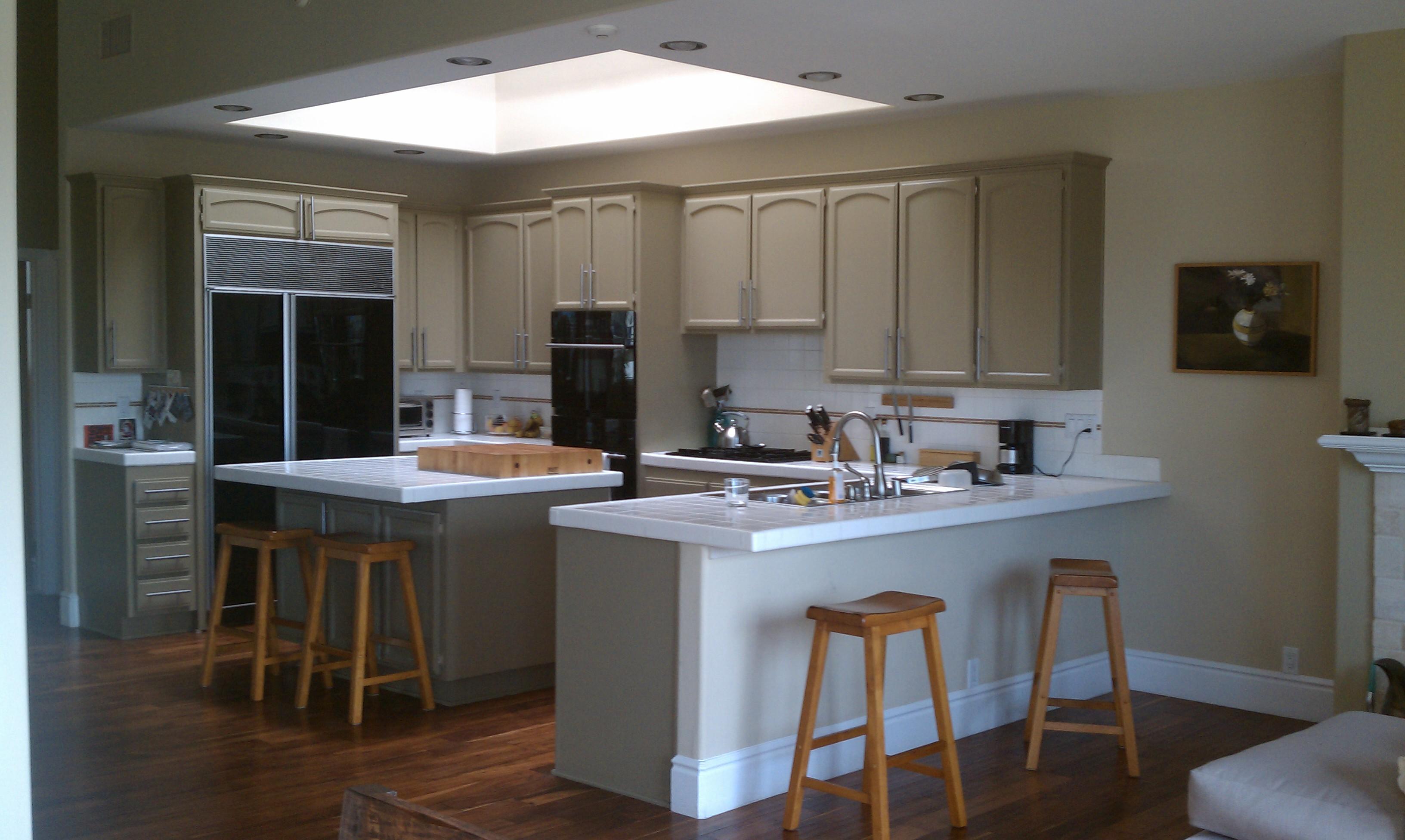 ikea kitchen bar cheap sinks open walls for a sunny