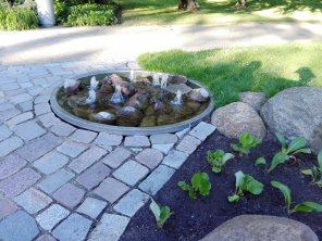 Eine Anregung für kleine Hausgärten