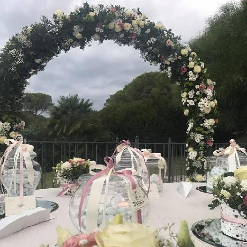 Arco di fiori Matrimonio