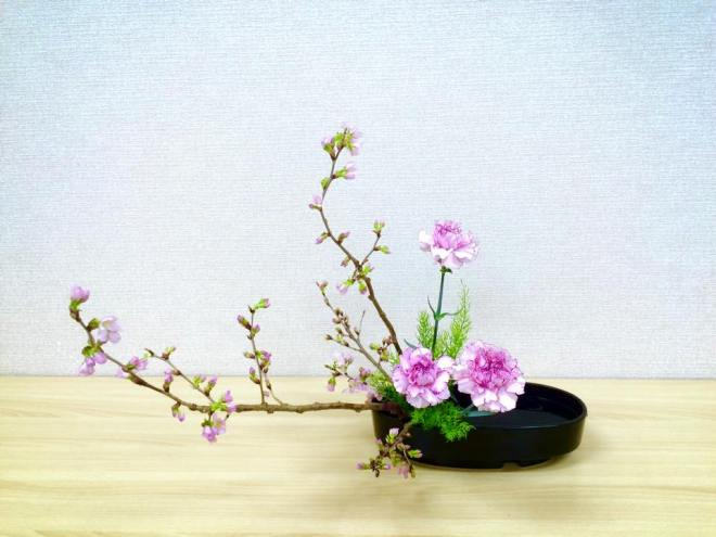 Student of Ohara Ikebana