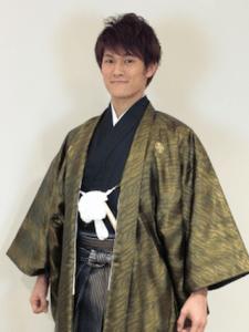 成人式 袴 男 髪型