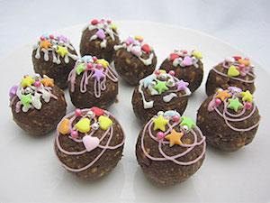 バレンタイン、チョコ、デコ、手作り、1