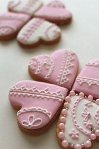 バレンタイン、クッキー、デコ、手作り、3