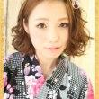浴衣 女性 ミディアム 髪型、4