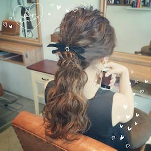 結婚式 ロング 髪型 ゲスト 女性、1