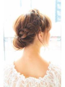 結婚式 ロング 髪型 ゲスト 女性、6