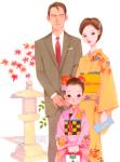 七五三での母親や父親の服装や髪型をご紹介!