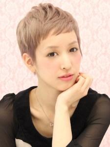 春 髪型 ショート 女性 人気 1