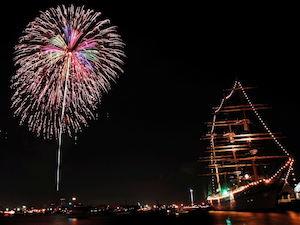 横浜開港祭花火大会の2018年度の日程や見どころ、穴場のご紹介!