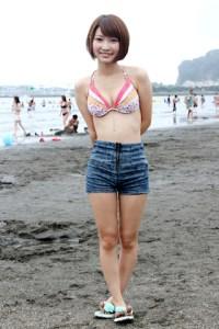 海 プール 髪型 水着 2