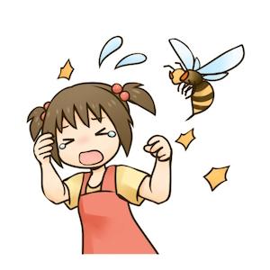 蜂 刺されたら 症状