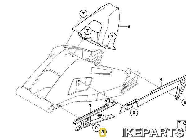 IKEPARTS (イケパーツ) / 新品 BMW 純正ステップ ボルト 358BID:Ae060800001