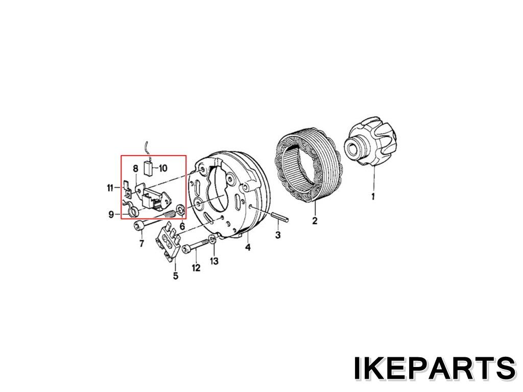 IKEPARTS (イケパーツ) / 未使用 BMW R50 R90 R45 R65 R60 R75 R 80