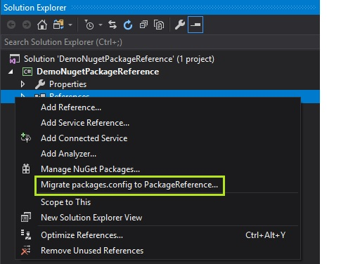 Errors in referencing .net standard library projects in .net framework based projects