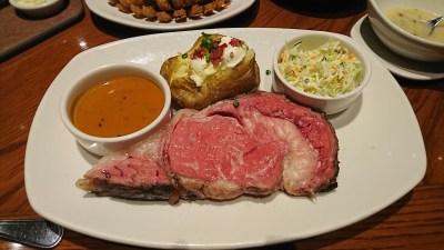 OUTBACK 週末ディナー限定プライムリブは最強肉メニューだった
