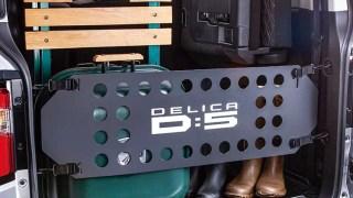 新型デリカ3列シート画像
