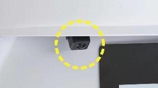 新型デリカDバックカメラ