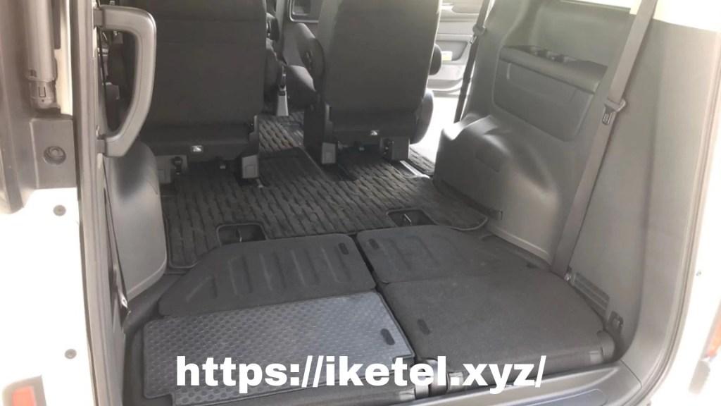 新型ステップワゴン3列目床下収納