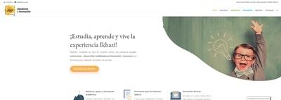 Nueva web de Ikhazi