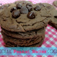 Recipe: Chocolate Peanut Butter Cookies