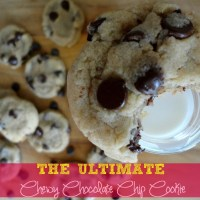 Recipe: The Ultimate Chewy Chocolate Chip Cookie