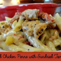 Recipe: Baked Chicken Penne with Sundried Tomatoes