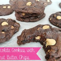Recipe: Chocolate Cookies with Peanut Butter Chips