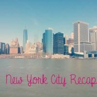 New York City Recap