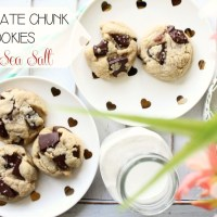 Recipe: Chocolate Chunk Cookies with Sea Salt