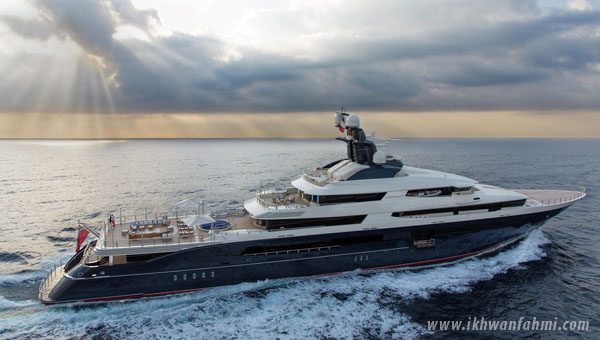 kapal equanimity untuk dijual, equanimity for sale, kapal jho low untuk dijual